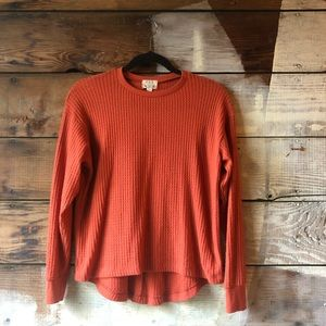 Project Social T (Nordstrom's) Size XS Orange Top